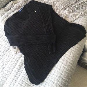 Ralph Lauren v neck lose  fit sweater size medium